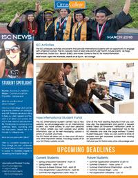 ISC News Marzo 2018